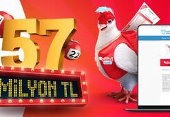 Çılgın Sayısal Lotoda rekor ikramiye 57 milyon TL | 2 Eylül Çılgın Sayısal Loto online oyna