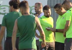 Mustafa Er Bursaspordaki ilk idmanına çıktı...
