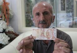 Hatalı basılan banknotu satışa çıkardı