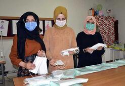 Muşlu öğrenciler 6 ayda 200 bin cerrahi maske üretti