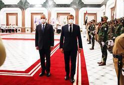 Macron: Dış müdahaleler Irakı zayıflatabilir