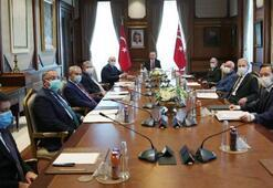 Son dakika YİK, Cumhurbaşkanı Erdoğan başkanlığında toplandı