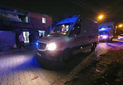 Eşini ve oğlunu yaraladı, polis çağırdı