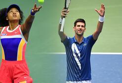 ABD Açıkta Djokovic ve Osaka üçüncü tura yükseldi