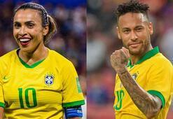Brezilyada kadın ve erkek futbol oyuncuları bundan sonra eşit ücret alacak