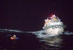 43 mürettabat ve 6 bin sığırla kaybolan kargo gemisinden bir kişi kurtarıldı
