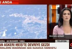 Son Dakika: Hedef gösterilen AA muhabiri: Yunan polisi dışarı çıkmayın dedi