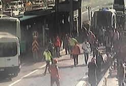 Pendikte otobüs gişelere çarptı Çok sayıda yaralı var