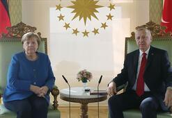 Cumhurbaşkanı Erdoğan, Merkel ile Doğu Akdeniz'i görüştü: Adil paylaşım istiyoruz