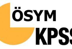 KPSS başvuru tarihi 2020 ne zaman KPSS Lisans (Genel Yetenek-Kültür-Eğitim Bilimleri) saat kaçta