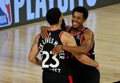 NBA play-offlarında Toronto Raptors, son saniye basketiyle kazandı