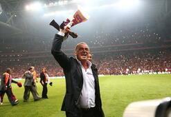 Galatasaraydan Fatih Terime doğum günü kutlaması