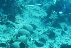 Antalyada, Osmanlı savaş gemisi batığı bulundu