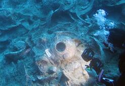 Heyecanlandıran keşif Osmanlı savaş gemisi batığı bulundu
