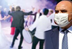 Vali açıkladı Koronavirüs tedavisi gören kadın, 72 saatte 5 düğüne gitmiş
