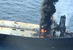2 milyon varil petrol taşıyan tanker yandı: 1 ölü