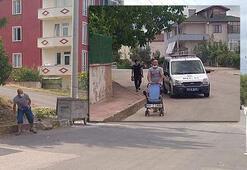 Sokağa çıktı, polis alarma geçti