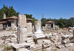 Gladyatörler şehrinin Türk mimari yapıları gün yüzüne  çıkarılıyor