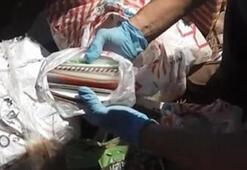Antalyada ortaya çıktı Teröristler çuvalları ormana gömmüş
