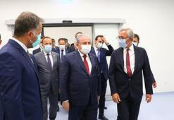 TBMM Başkanı Şentop, Tekirdağ Şehir Hastanesinde incelemelerde bulundu