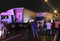 Son dakika... Anadolu Otoyolunda zincirleme kaza 25ten fazla araç...