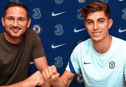 Son dakika | Chelsea, Kai Havertzi resmen açıkladı Rekor bonservis...