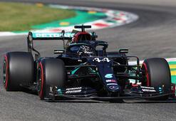 İtalya Grand Prixsinde pole pozisyonu Hamiltonın