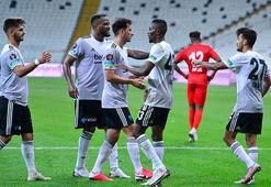 Beşiktaşta Oğuzhan, Hasic ve Larin alkış topladı