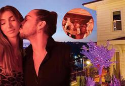 Şevval Şahin-Yiğit Marcus Aralın ev partisinde virüs paniği