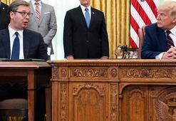 Beyaz Sarayda faka bastı Rezalet anlar dünyayı salladı...