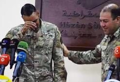 ABDli komutan YPGye veda ederken ağladı