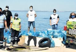Kent Ormanı'ndan 35 poşet çöp çıktı