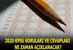 KPSS soruları açıklandı mı 2020 KPSS lisans sonuçları, genel kültür-yetenek soruları ve cevap anahtarı ne zaman açıklanacak
