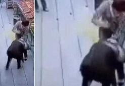 Markette dehşet Reyon görevlisi defalarca bıçaklandı
