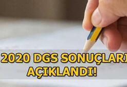 ÖSYM DGS sonuçlarını açıkladı 2020 DGS sonuç sorgulama...