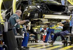 Almanyada sanayi üretimi arttı
