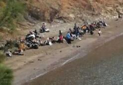 Kumlucada 190 kaçak göçmen yakalandı