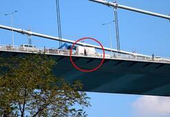 Son dakika... Fatih Sultan Mehmet Köprüsünde intihar girişimi