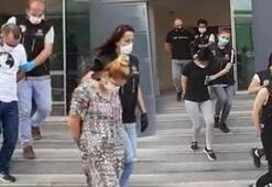Bursadaki uyuşturucu operasyonu 4 kişi tutuklandı