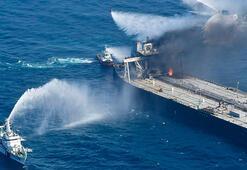 Sri Lanka, petrol tankerinde çıkan yangının verdiği zararı inceleyecek