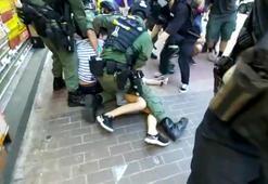 Hong Kongta 12 yaşında bir çocuğun gözaltına alınması tepkilere sebep oldu