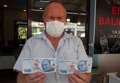 100 lira olduğuna bakmayın 100 bin lira değer biçiliyor