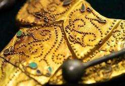 Kazı esnasında ortaya çıktı 800 parça altından oluşuyor
