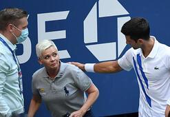 Novak Djokovicin diskalifiyesi dünya basınında