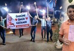 İlginç evlilik teklifi 900 TLlik 'sosyal mesafe' cezasıyla bitti