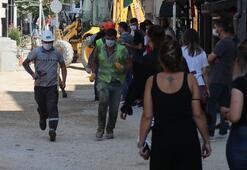 Bolu'da büyük panik Doğalgaz patladı evlerine giremediler