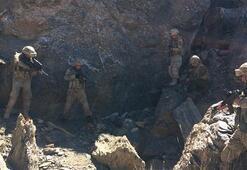 Yıldırım- 10 Norduz Operasyonunda PKK sığınakları tespit edildi
