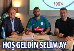 Transfer haberleri | Selim Ay resmen Çaykur Rizesporda