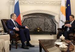 Rusya Dışişleri Bakanı Lavrov Güney Kıbrısta