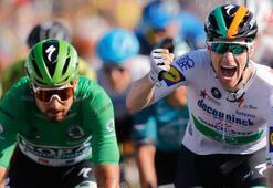 Fransa Bisiklet Turunun 10. etabını Sam Bennett kazandı